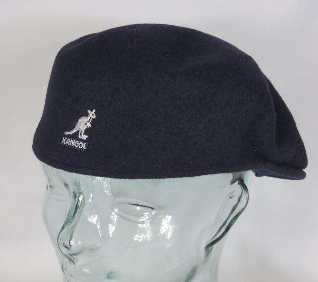 a509794540a Kangol Wool 504 Flatcap Blue Wool Hat Cap Pepe Kangol Cap Kangol Cap New