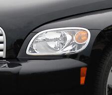 FITS CHEVY HHR 2006-2011 CHROME HEAD LIGHT TRIMS BEZELS 2PCS