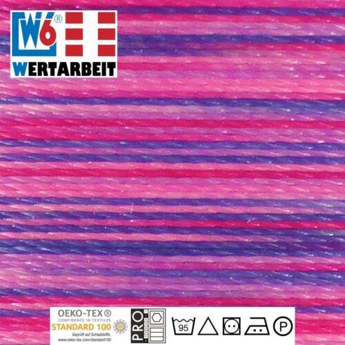und Stickgarn Farb-Nr W6 Näh 1.000 m 9973 Multicolor