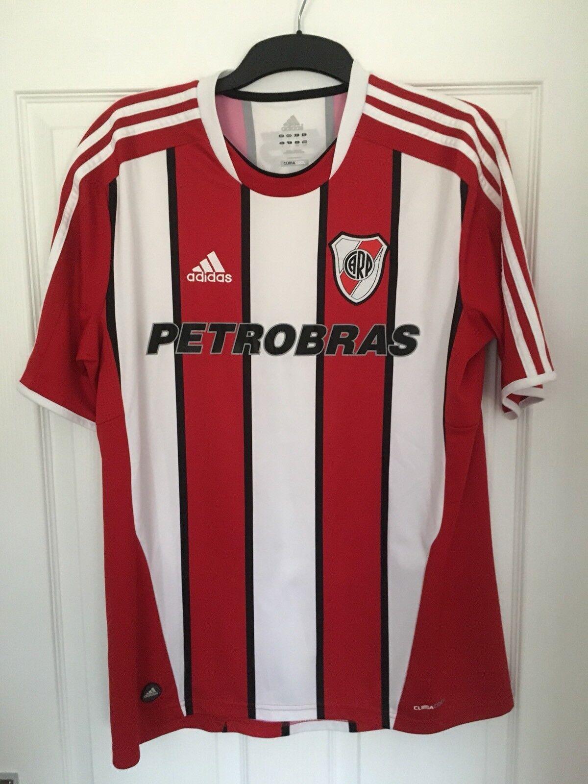 2011 2013 River Plate via maglia da footbtutti Adidas Petrobras rari uomini di grei diuomoioni_;s;
