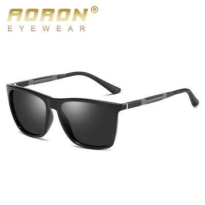 Polarized Men Women Vintage 100% UV400 Sunglasses Eyewear Night Vision Glasses