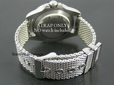 STEEL SHARK MESH WATCH STRAP BRACELET FOR CITIZEN ECO-DRIVE WATCH 22mm