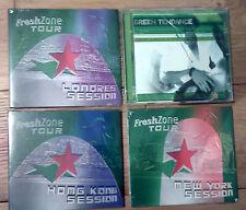4x CD album - HEINEKEN Fresh Zone Tour - London / New-york / Hong-kong session