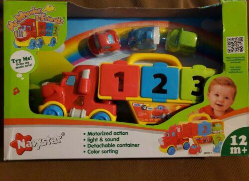 NAVYSTAR WHEELER /& FRIENDS Ação Motorizada MR Babys 1ST Caminhão Transportador