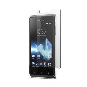 2-x-Sony-Xperia-J-Film-de-Protection-clair-Protecteurs-Ecran