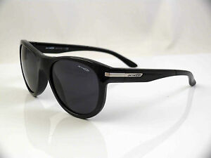 15ee5f48df4 ARNETTE BLOWOUT SUNGLASSES AN4142 07 GLOSS BLACK FRAME GREY LENS NEW ...