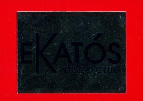 207 n EKATOS SAN POLO -New DISCOTECHE /'93 -Panini 1993- Figurine-stickers