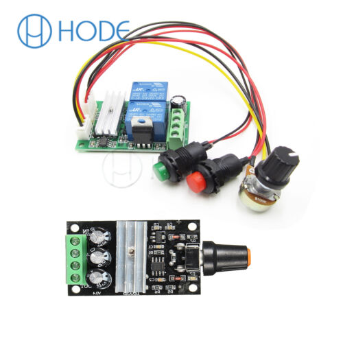 3 A DC Motor Speed Control Controlador PWM Regulador Reversible switchuk