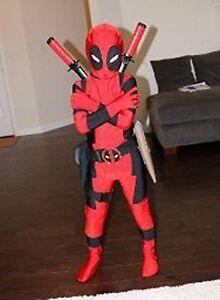 image is loading deadpool costume kids x man superhero child halloween