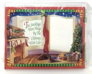 Details about Vintage Sears Portrait Studio Christmas Cards & Envelopes 10  Pack Photo Insert