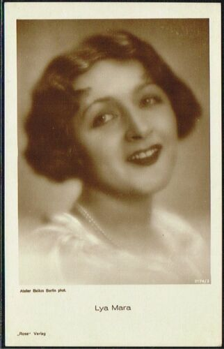 ROSS VERLAG 1920s Film Star Postcards produced in Germany #3161 to #3232