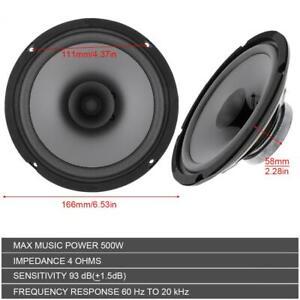 6-034-500W-Car-HiFi-Coaxial-Speaker-Vehicle-Door-Auto-Audio-Music-Stereo-Speakers