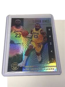 2019-2020-Panini-Illusions-Lebron-James-Base-No-20-Los-Angeles-Lakers