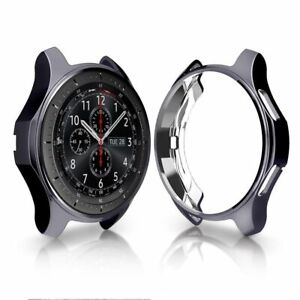 Case-Cover-For-Samsung-Galaxy-Watch-Gear-S3-Shell-Guard-Soft-Bumper-Clear-Casual