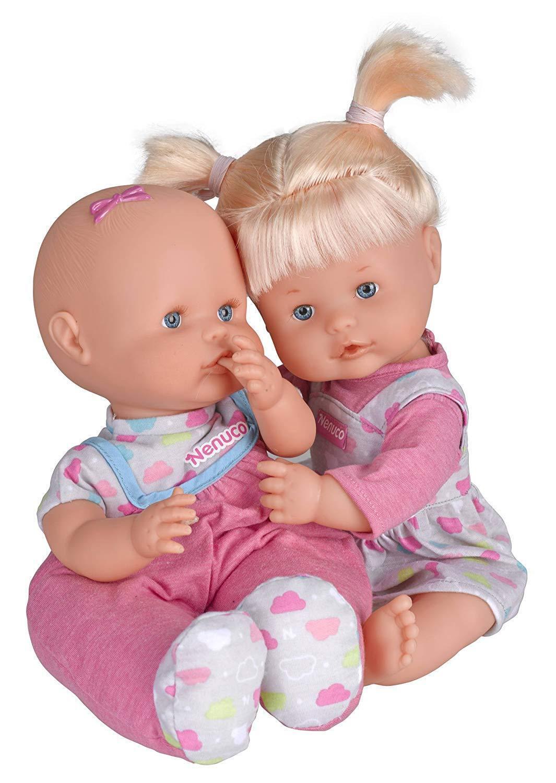 Famosa Nenuco 700007782 - Gemelos interactivos el niño. Se ponen celosos si se