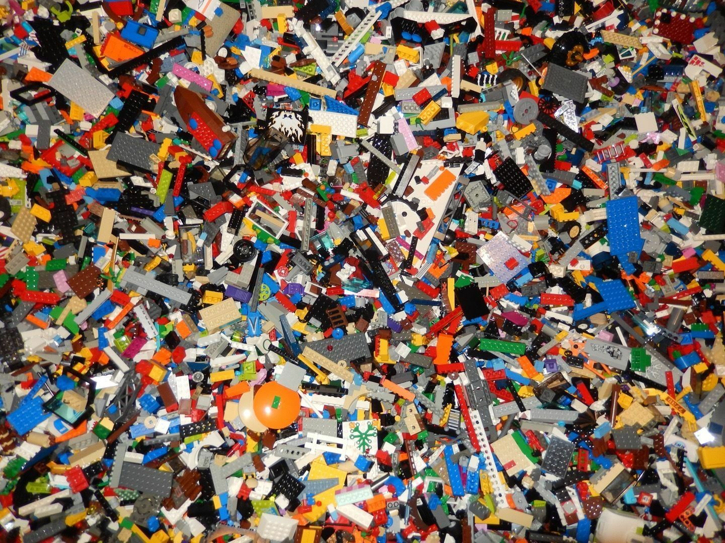 LEGO Lot 6 pounds LBS Bulk Lot  Cleaned Sanitized Clean 100% Genuine  negozio di vendita outlet
