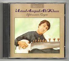 USTAD AMJAD ALI KHAN - Afternoon Ragas      Sarod   CD
