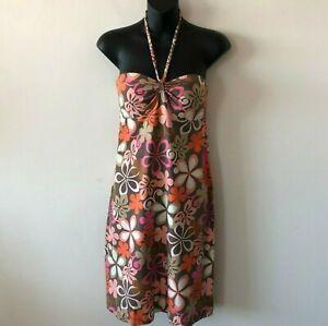 Tommy-Bahama-Apres-Swim-Beach-Dress-Cover-Up-Stretch-Summer-Pool-Women-039-s-XS-New