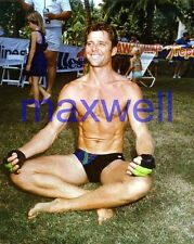 MAXWELL CAULFIELD #2647,BARECHESTED,SHIRTLESS,barefoot,GREASE 2,the colbys