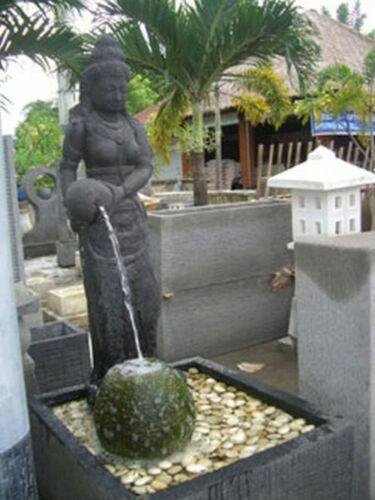 Dewi Tara Steinfigur 120 cm XL Shiva Buddha Bali Hindu Skulptur Brunnen Garten