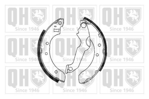Brake Shoes BS576 Quinton Hazell Set 1613131 5015659 5020548 5020408 6088224 New