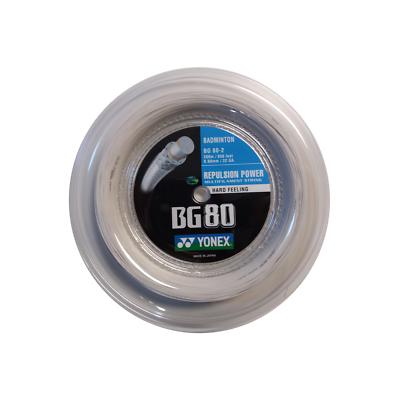 (0,44 €/m) Yonex Bg 80 200 M Corde Tennis-