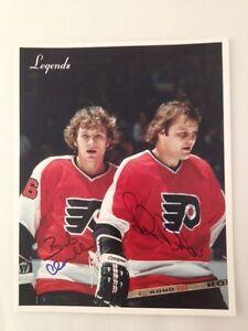 Philadelphia-Flyers-Bobby-Clarke-And-Bill-Barber-Autographed-8-x-10-Photo