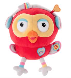 NEW-Giggle-amp-Hoot-Hootagadget-Cute-Owl-Beanie-Plush-Toy-Great-Kids-039-Gift-Idea