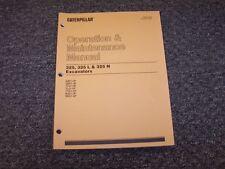 CAT Caterpillar 325 325L 325N Excavator Owner Operators Operations Manual