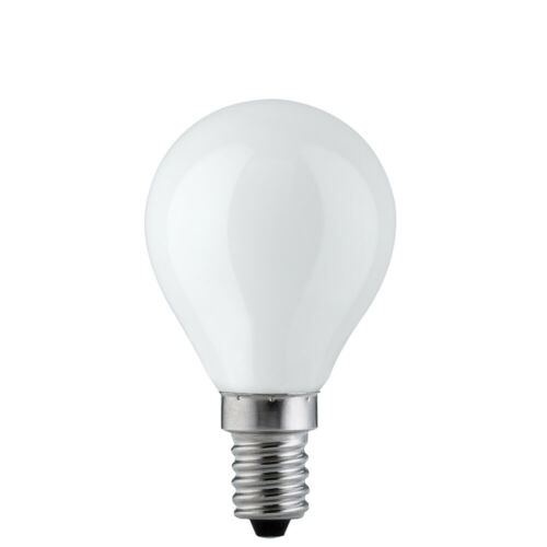 Paulmann Ampoule goutte 25 w e14 opal blanc four 300 ° boule ampoule p45