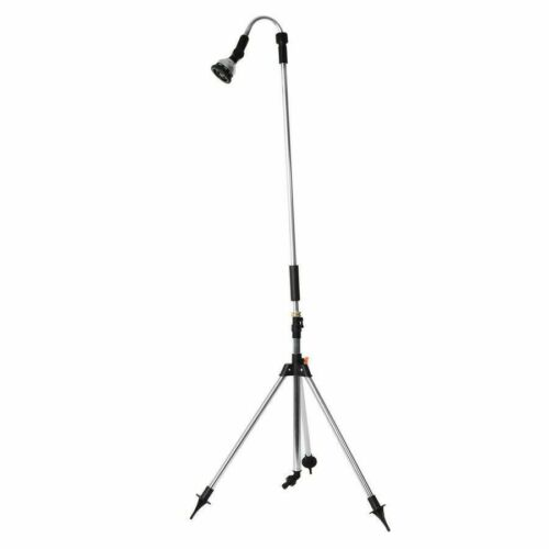 Multi Functional Portable Outdoor Shower Stand with Adjustable Shower Head