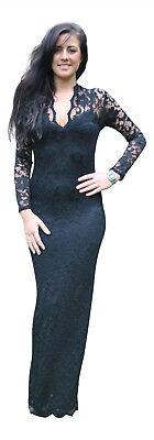Ladies Long Maxi Full Length Stretch Evening Formal Bridesmaid Dress New