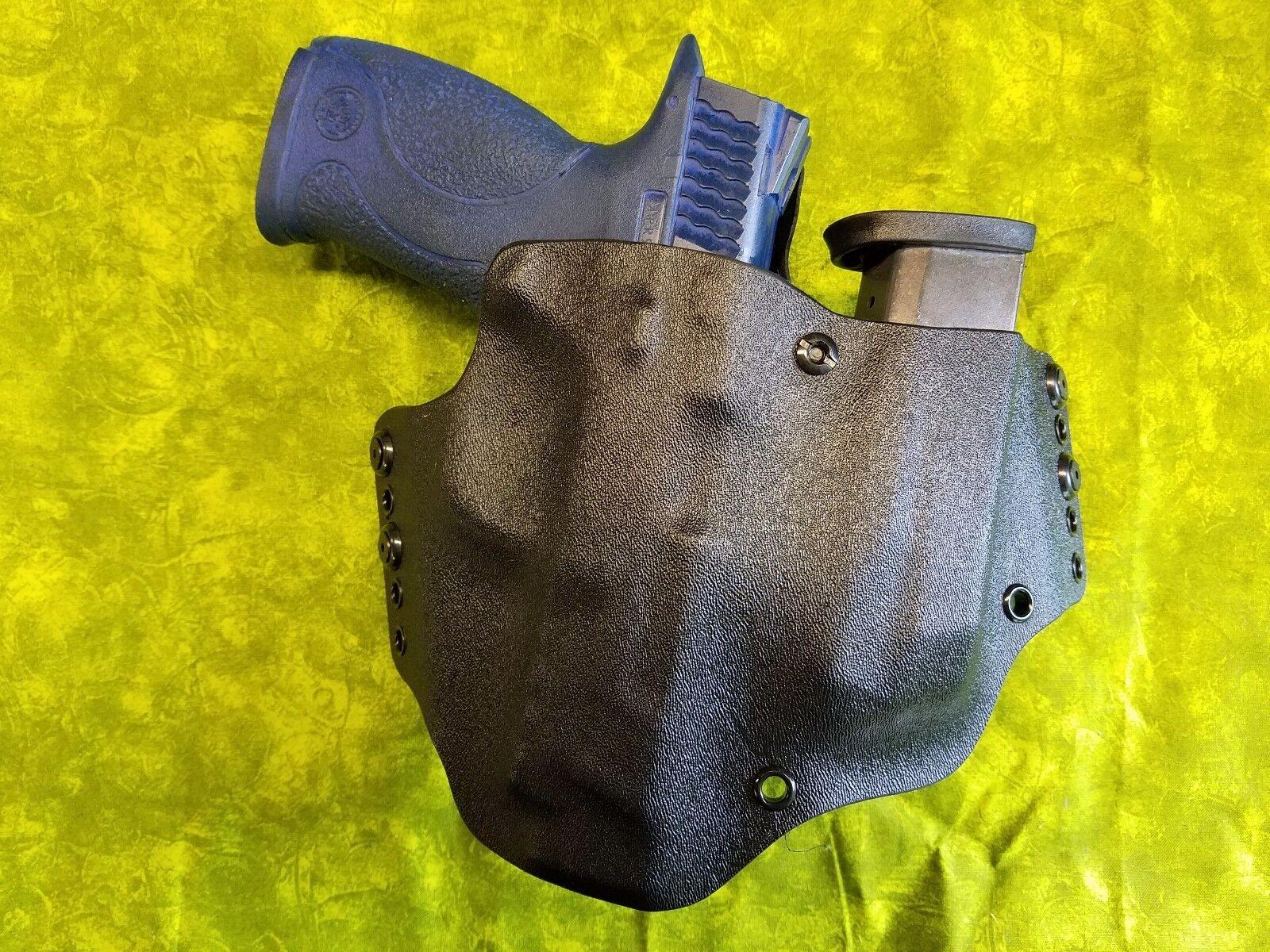 mira  Super BONITA negro funda Kydek con construido en Artes Marciales Engranaje TLR-1 verdaderamente mano Equipada