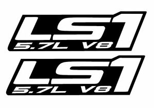 Lsx decal VINYL LS1 LS SWAP PAIR!