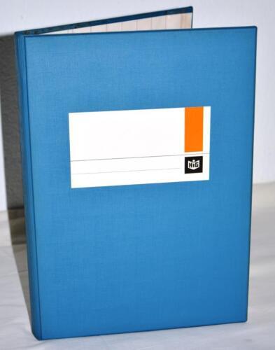 HIG Spaltenbuch A4,Kopfleiste,8 Spalten 144 Blatt,288 Seiten stabiler Einband