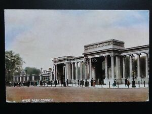 London-Hude-Park-Corner-c1905-PM-EAST-DULWICH-cds-QUEEN-VICTORIA-1d-Stamp