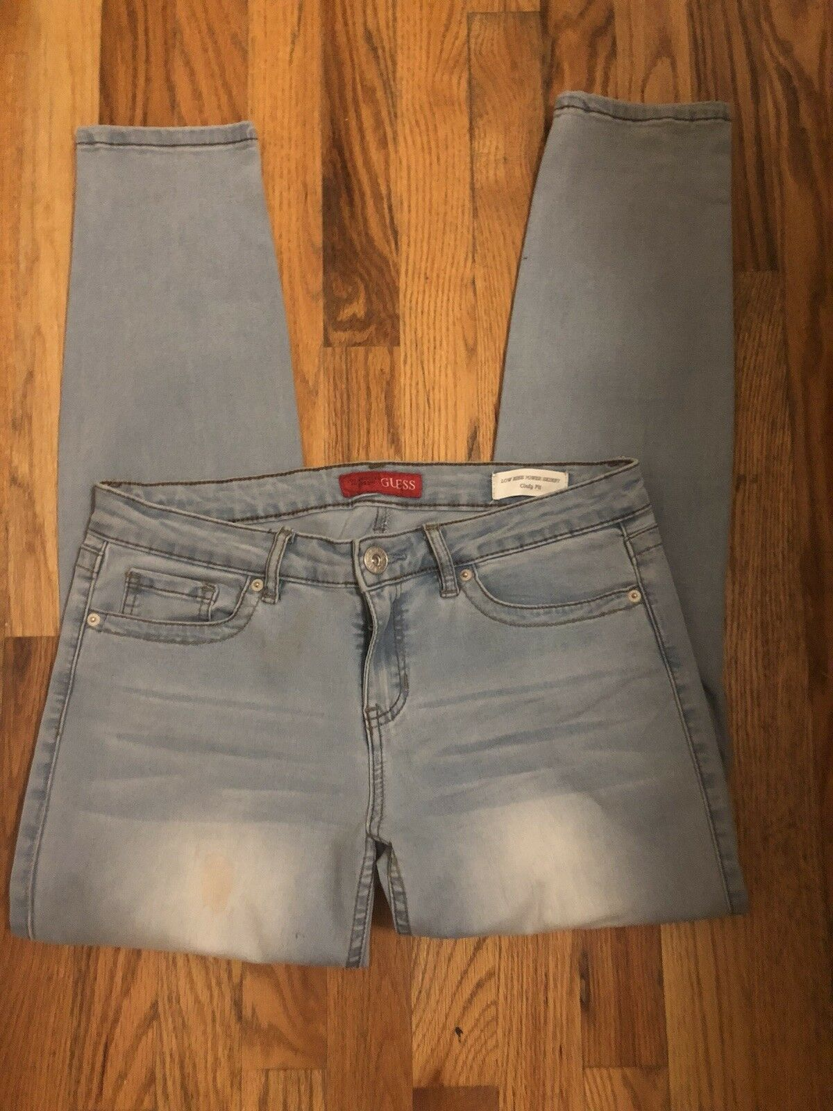 Guess Women Low Rise Power Skinny Cindy Fit Jeans Size 30