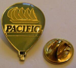 HOT-AIR-BALLOON-PACIFIC-vintage-Pin-Badge