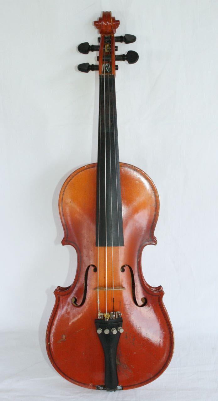 Antique WILHELM EBERLE E160 Violine.1 2 Größe Modell Stradivarius Deutschland