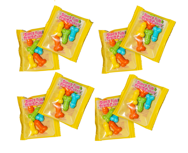 EAT A BAG OF DICKS 8 PECKER PENIS BAGS ADULT PARTY HENS NIGHT PINATA FILL CANDY