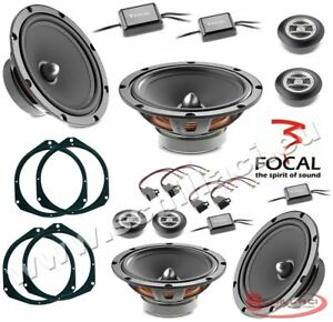 Kit-8-HP-enceintes-haut-parleurs-FOCAL-pour-FIAT-ALFA-ROMEO-LANCIA-OPEL-av