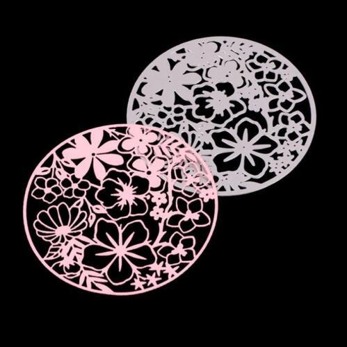 Kreis Blume Metall Stencil Cutting Dies DIY Scrapbooking Karten Stanzschablone