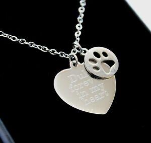 Pet Loss Memorial Necklace Pendant