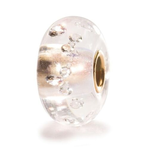 AUTHENTIC TROLLBEAD THE DIAMOND BEAD 82001 BEADS DIAMANTE CON ORO