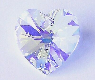 Swarovski Crystal 6228 Xilion Heart 18mm Pendant All Colour
