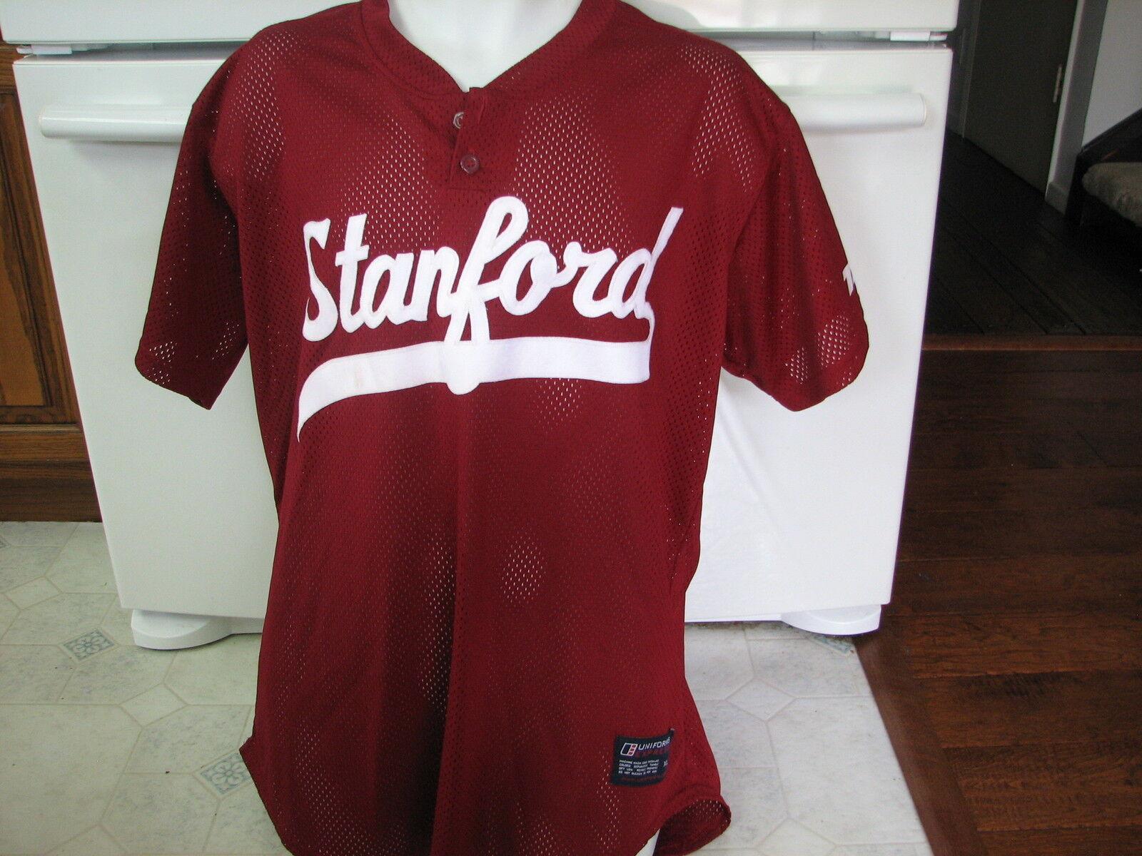 Stanford University Men's Baseball Team game used mesh jersey