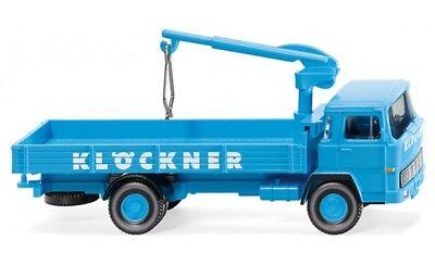 """#042301 - Wiking Branda-camion Magirus (100 D7) """"klöckner"""" - 1:87-mostra Il Titolo Originale"""
