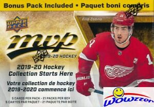 2019-20-Upper-Deck-MVP-Hockey-EXCLUSIVE-HUGE-21-Pack-Factory-Sealed-Blaster-Box