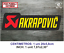 Sticker-Vinilo-Decal-Vinyl-Aufkleber-Adesivi-Autocollant-Akrapovic-SA-Exhaust miniatura 5
