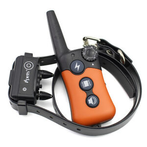 Ipets-900ft-Remote-Dog-Shock-Collar-Rechargeable-Waterproof-Dog-Training-Collar